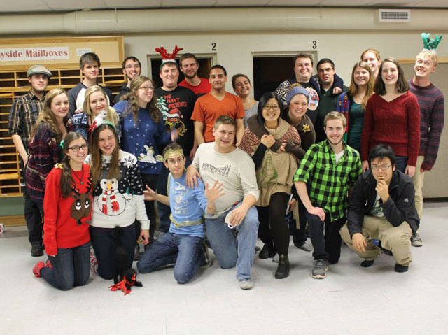 The Carleton Navigators' Christmas party